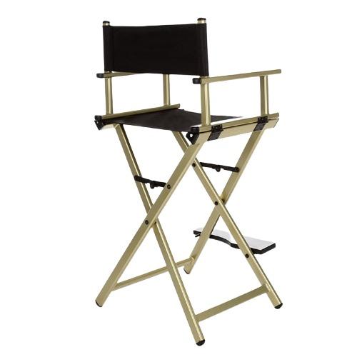 Разборный стул визажиста из алюминия (золотой) - изображение 3