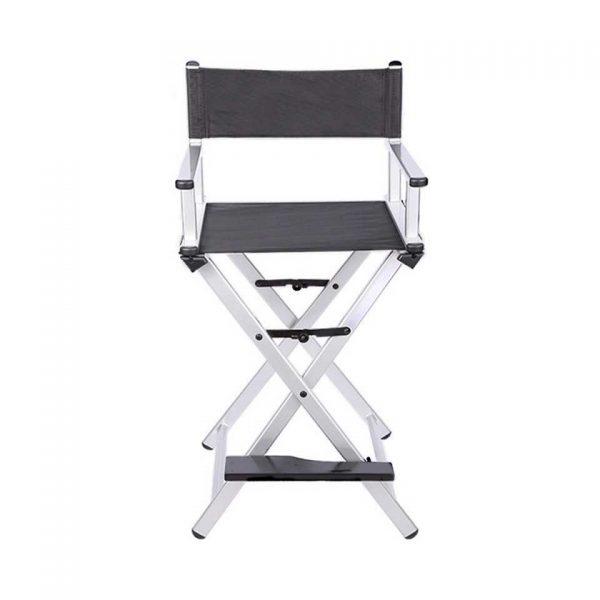 Разборный стул визажиста из алюминия (серебристый) - изображение 1