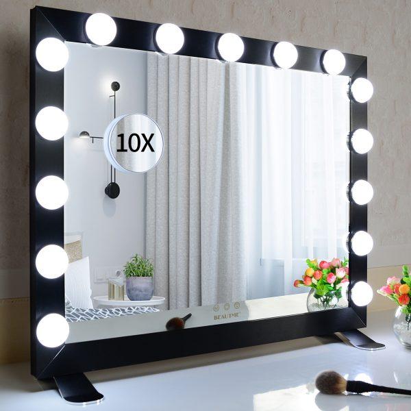 Зеркало гримерное  L611 (черное) - изображение 3