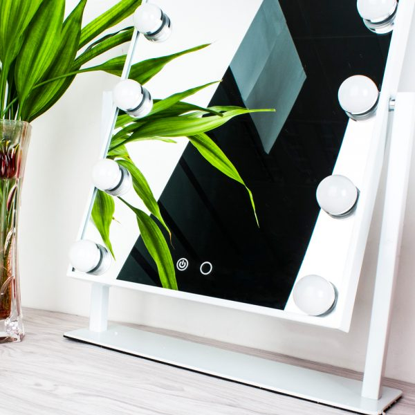 Зеркало гримерное настольное 503B (белое) - изображение 6