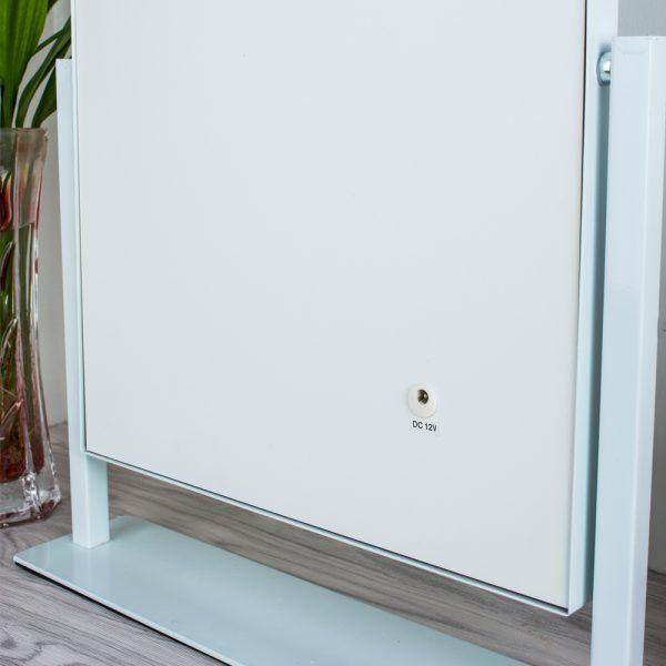 Зеркало гримерное настольное 503B (белое) - изображение 8