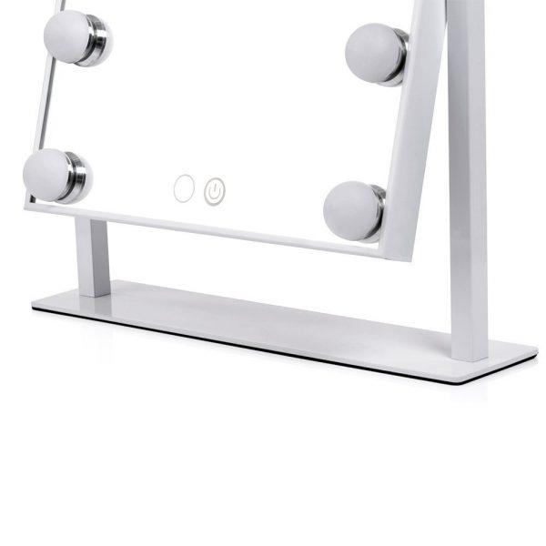 Зеркало гримерное настольное 503B (белое) - изображение 9