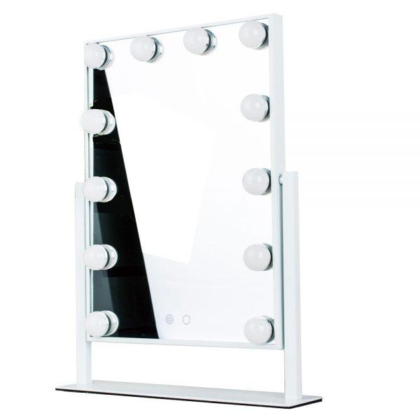 Зеркало гримерное настольное 503B (белое) - изображение 1
