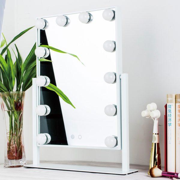 Зеркало гримерное настольное 503B (белое) - изображение 3