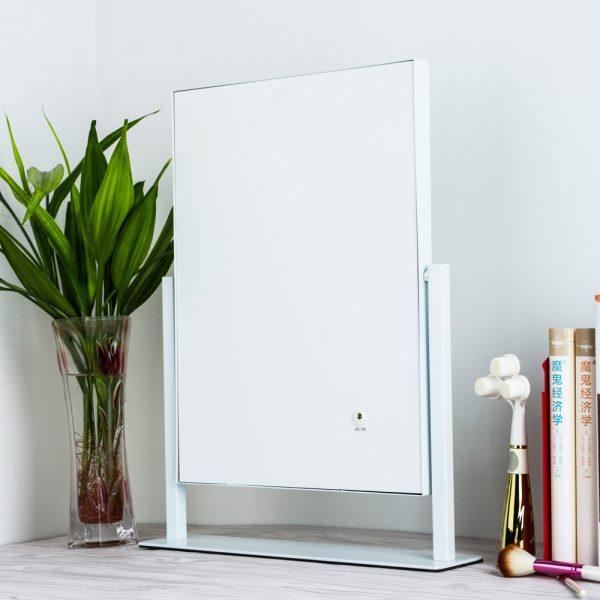 Зеркало гримерное настольное 503B (белое) - изображение 5