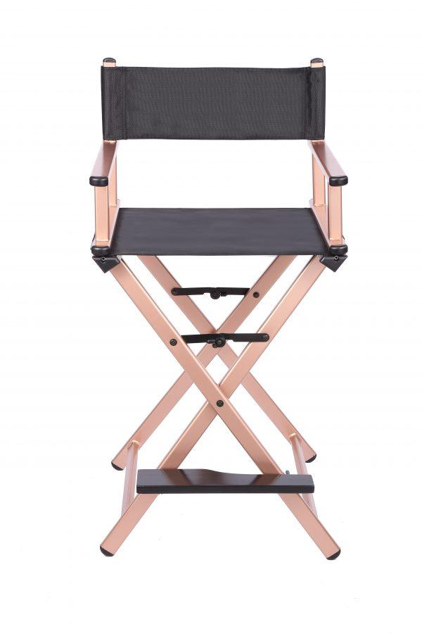 Разборный стул визажиста из алюминия (золотой) - изображение 1