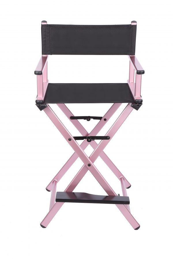 Разборный стул визажиста из алюминия (розовый) - изображение 5
