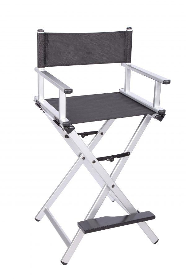 Разборный стул визажиста из алюминия (серебристый) - изображение 4