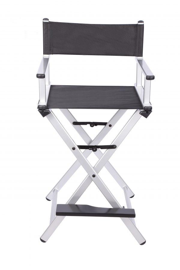 Разборный стул визажиста из алюминия (серебристый) - изображение 5