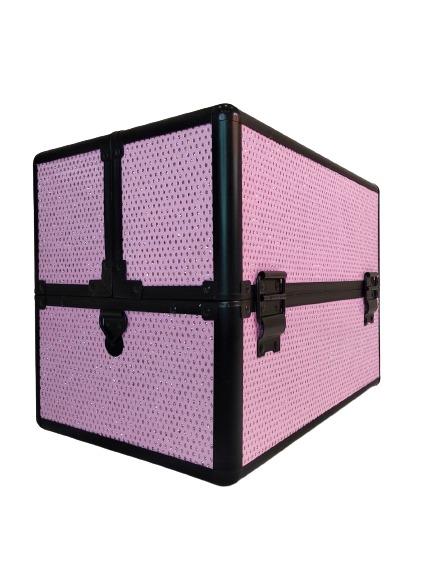 Бьюти кейс для косметики KС-238 розовый - изображение