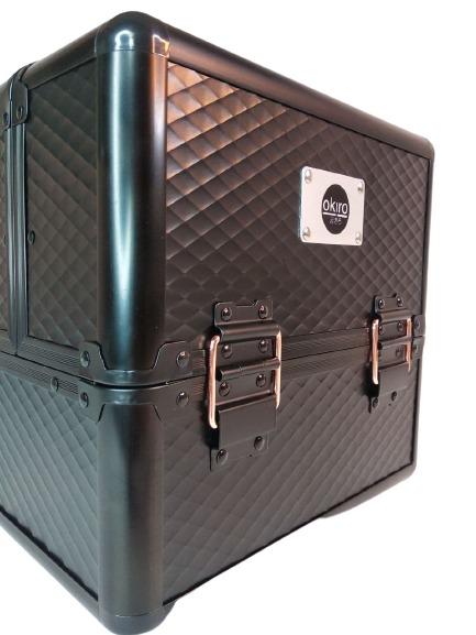 Бьюти кейс для косметики OKIRO KC-MAC 09 черный - изображение 4