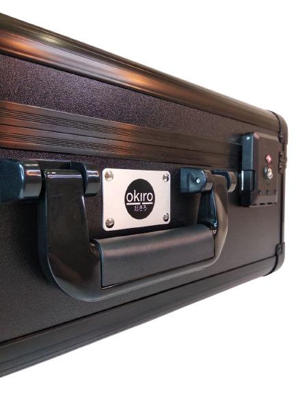 Кейс чемодан для барбера (парикмахера) OKIRO KC-RH01 (черный) - изображение 5