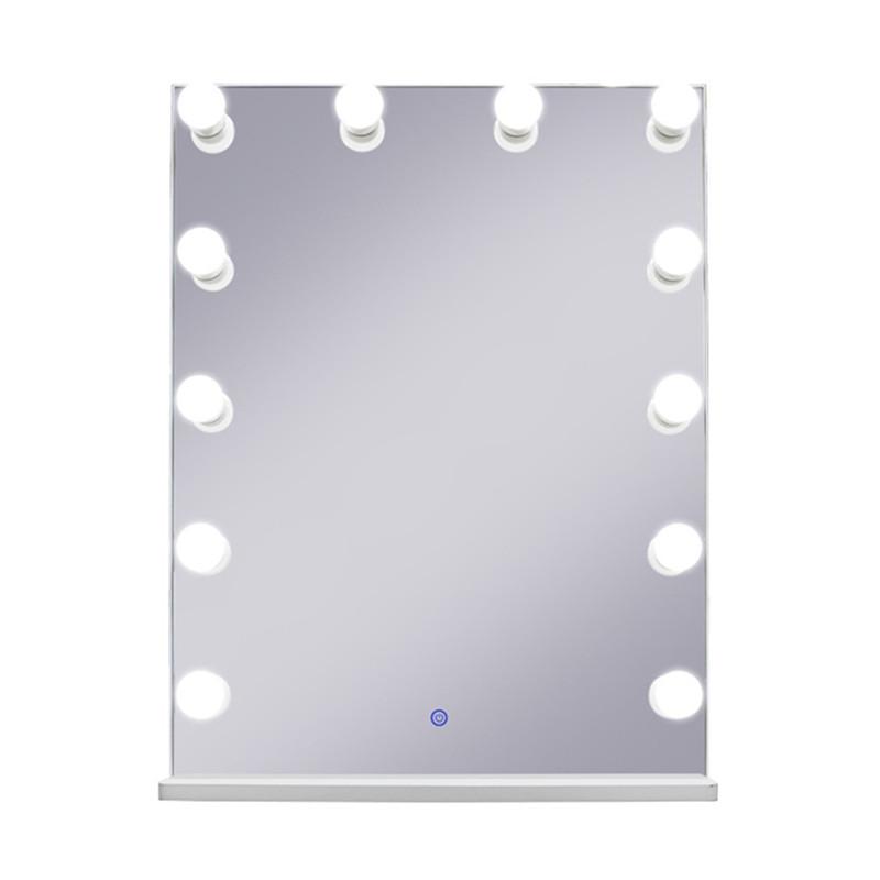 Зеркало гримерное DP315-B (белый) - изображение