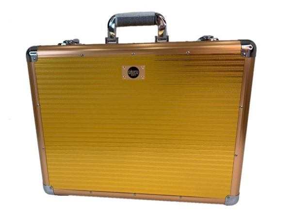 Кейс чемодан для барбера (парикмахера) OKIRO BC 001 (золотой) - изображение 7