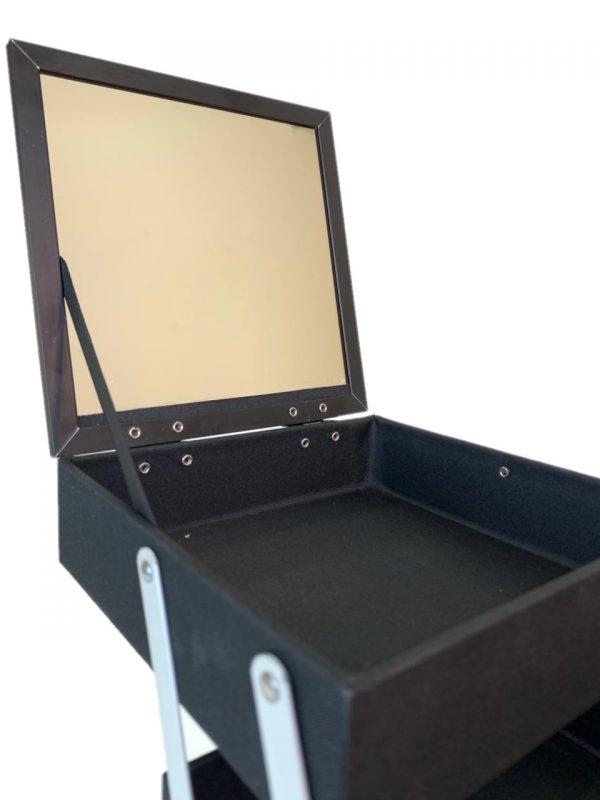 Бьюти кейс для косметики OKIRO MUC 064 (белый бриллиант) - изображение 3