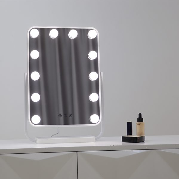 Зеркало гримерное настольное DP330 А (белое) - изображение 3