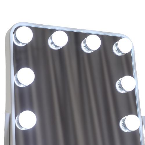 Зеркало гримерное настольное DP330 А (белое) - изображение 7