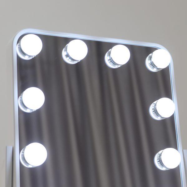 Зеркало гримерное настольное DP330 А (белое) - изображение 4