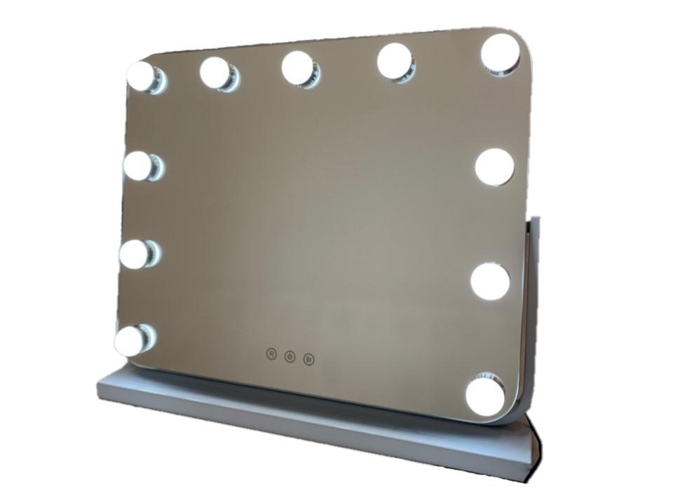 Зеркало гримерное DP218 (Белое) - изображение