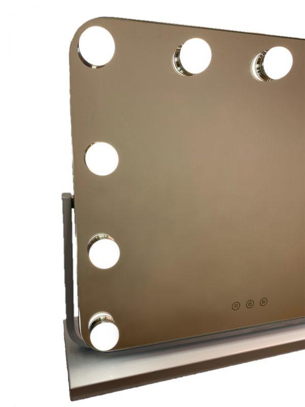 Зеркало гримерное DP218 (Белое) - изображение 3