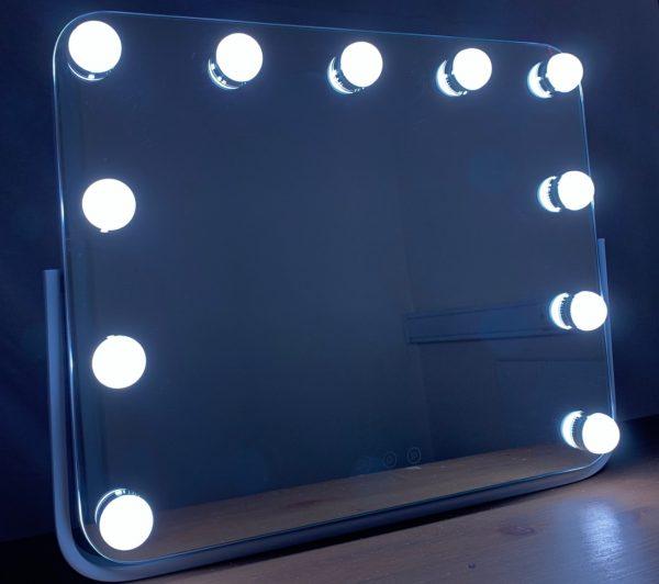 Зеркало гримерное DP218 (Белое) - изображение 6