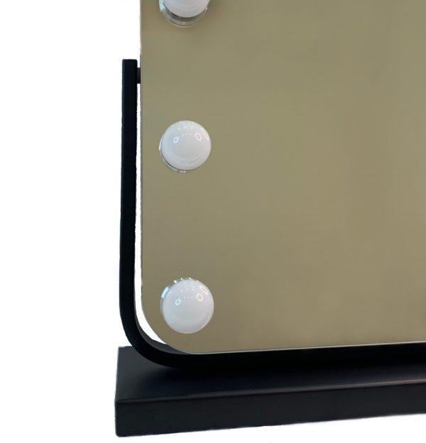 Зеркало гримерное DP218 (черное) - изображение 3