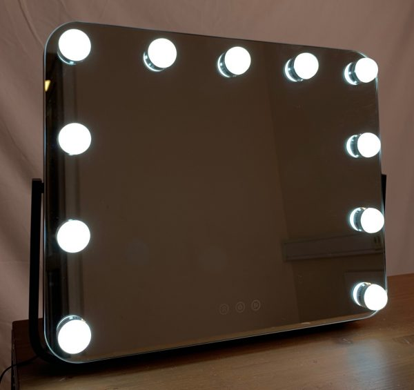 Зеркало гримерное DP218 (черное) - изображение 9