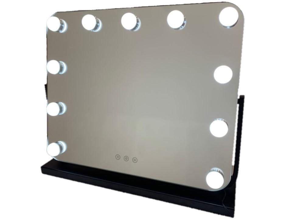 Зеркало гримерное DP218 (черное) - изображение