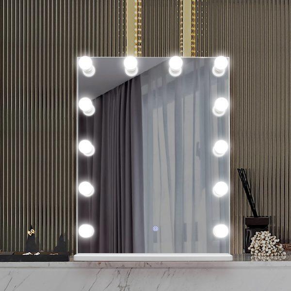Зеркало гримерное DP315-B (белый) - изображение 5
