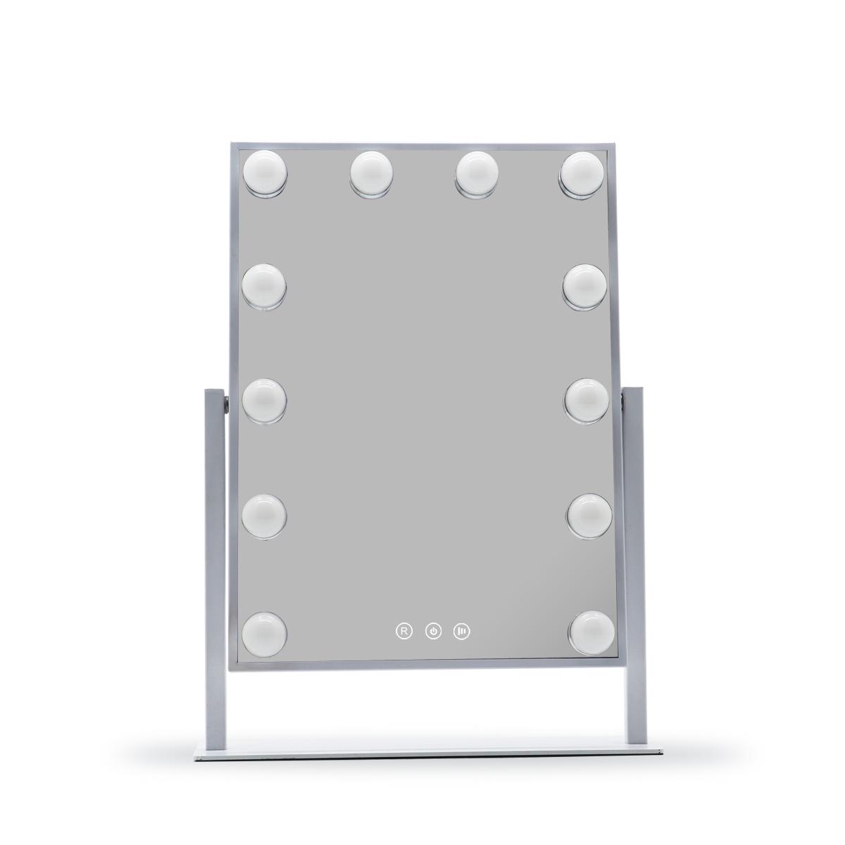 Зеркало гримерное настольное DP330 (молочный) - изображение