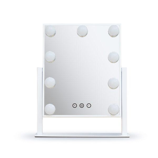 Зеркало гримерное настольное DP331 (белое) - изображение 1
