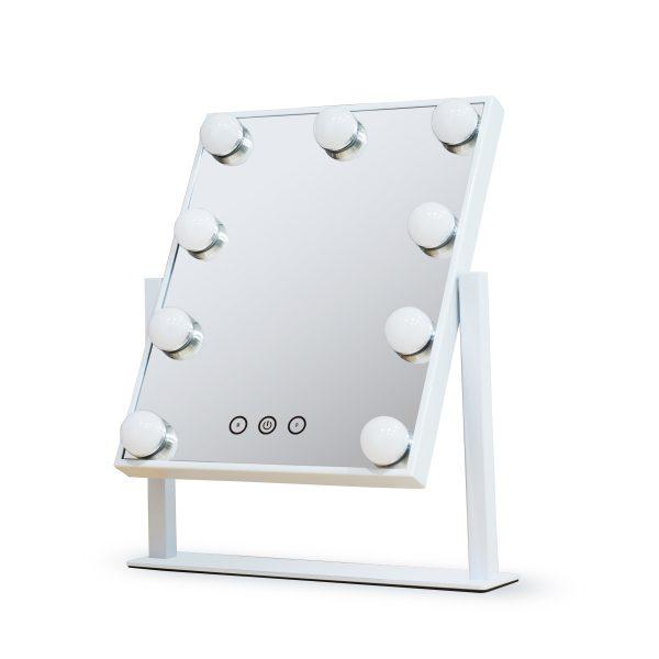 Зеркало гримерное настольное DP331 (белое) - изображение 2