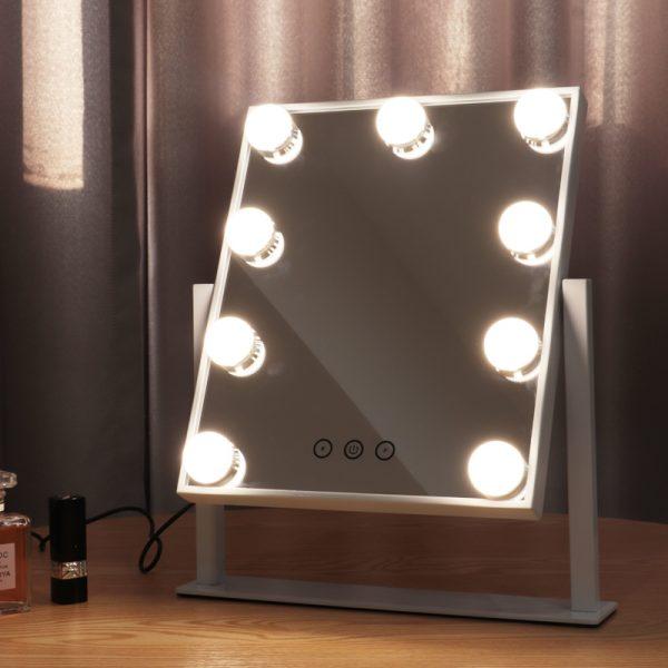 Зеркало гримерное настольное DP331 (белое) - изображение 5