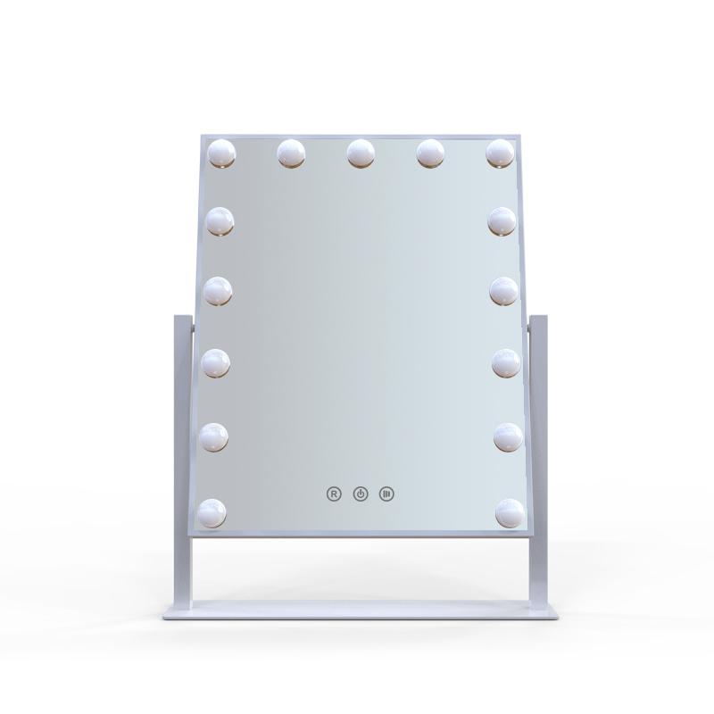 Зеркало гримерное настольное DP332 (белый) - изображение
