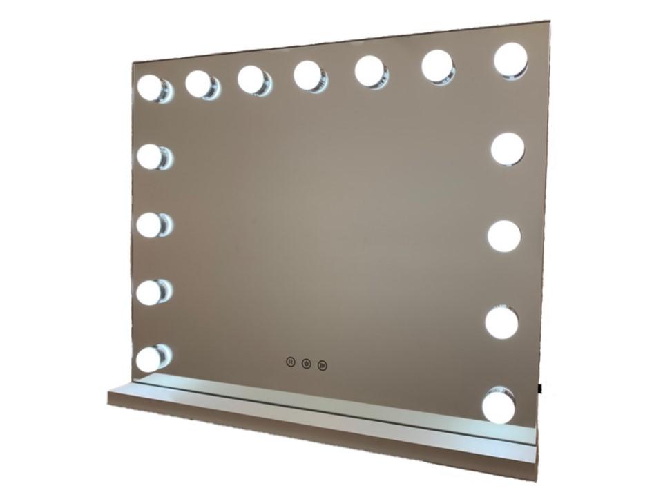 Зеркало гримерное DP357 (белый) - изображение