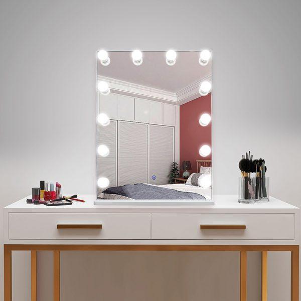 Зеркало гримерное DP315-B (белый) - изображение 4
