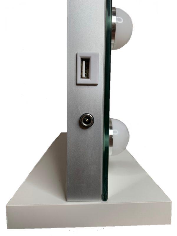Зеркало гримерное DP357 (белый) - изображение 2