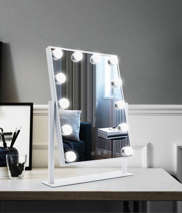 Зеркало гримерное настольное DP330 (молочный) - изображение 5