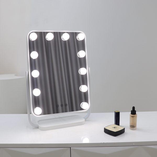Зеркало гримерное настольное DP330 А (белое) - изображение 2