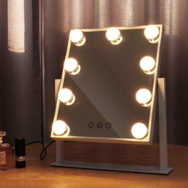 Зеркало гримерное настольное DP331 (белое) - изображение 6