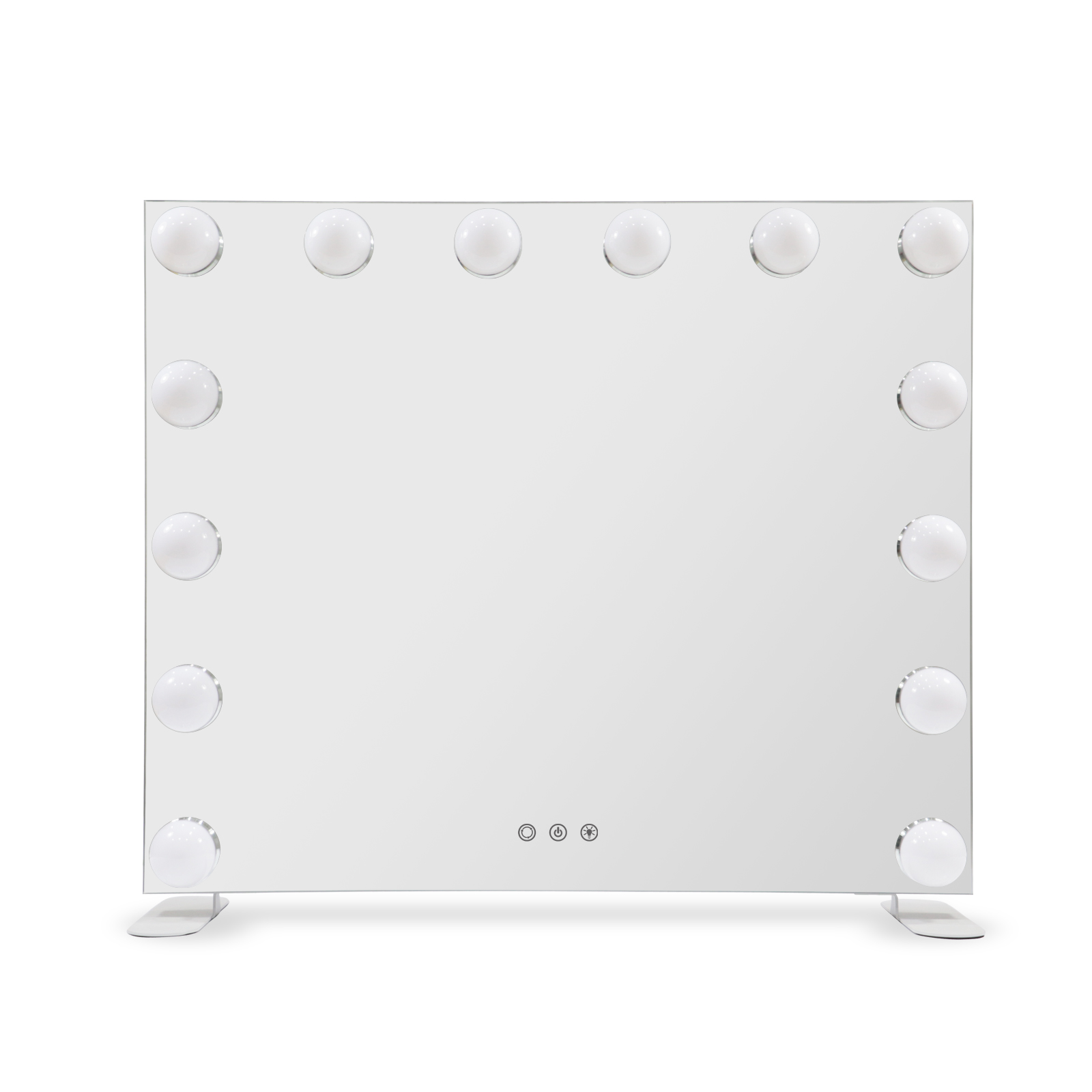 Зеркало гримерное DP358 (металлик) - изображение