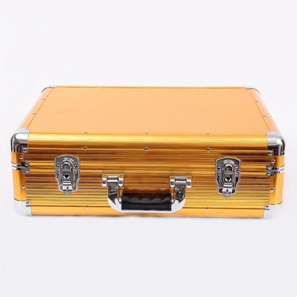 Кейс чемодан для барбера (парикмахера) OKIRO BC 001 (золотой) - изображение 4
