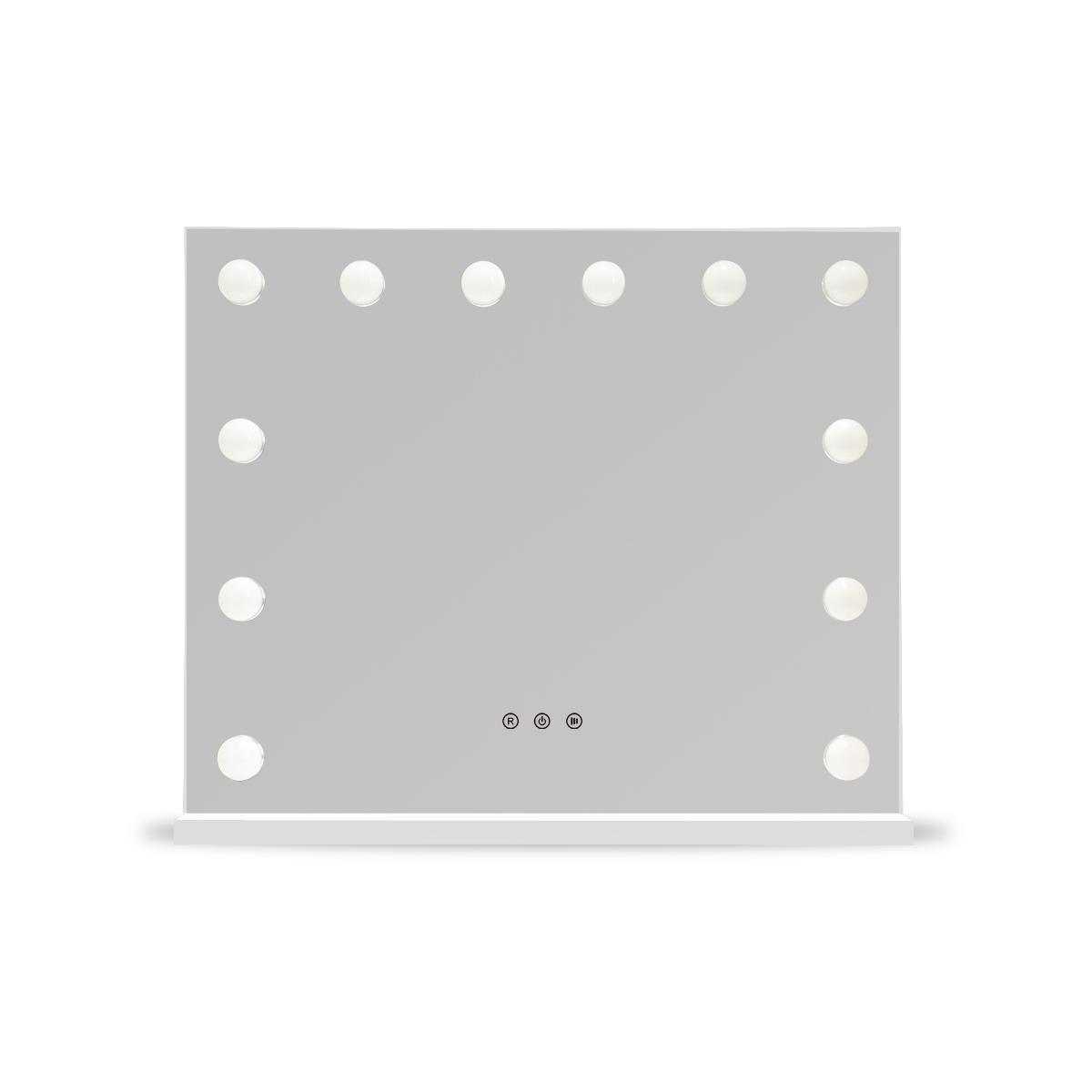 Зеркало гримерное DP334 (белый) - изображение