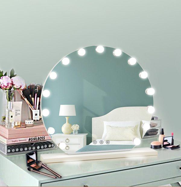 Зеркало гримерное DP355 (белый) - изображение 5