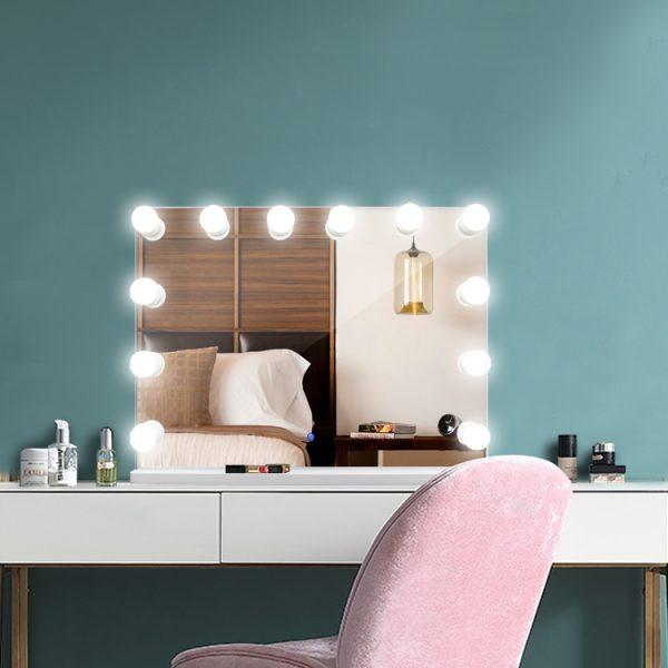 Зеркало гримерное DP315-А (белый) - изображение 7