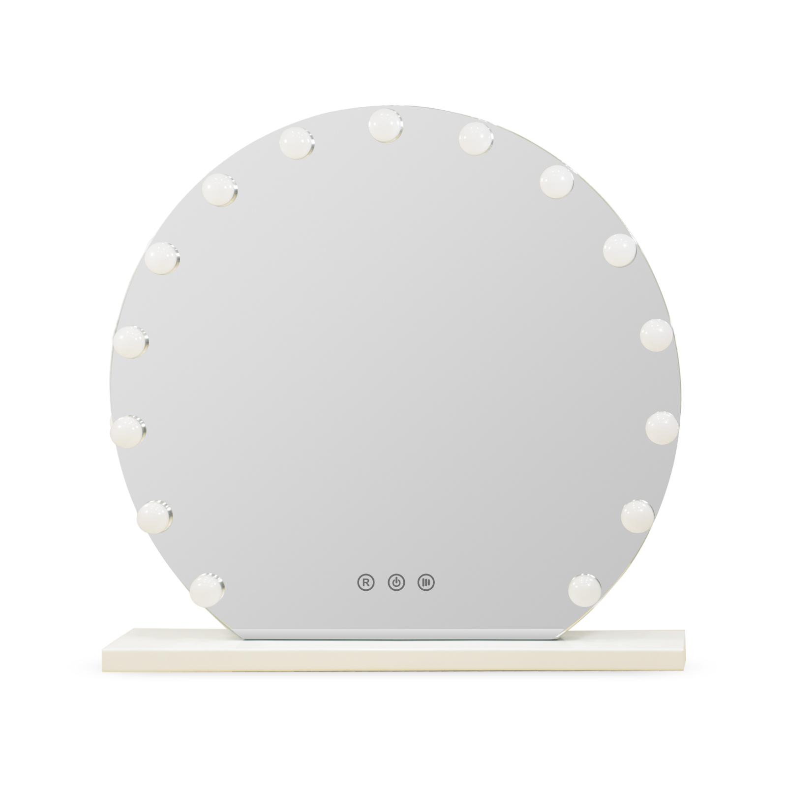 Зеркало гримерное DP355 (белый) - изображение