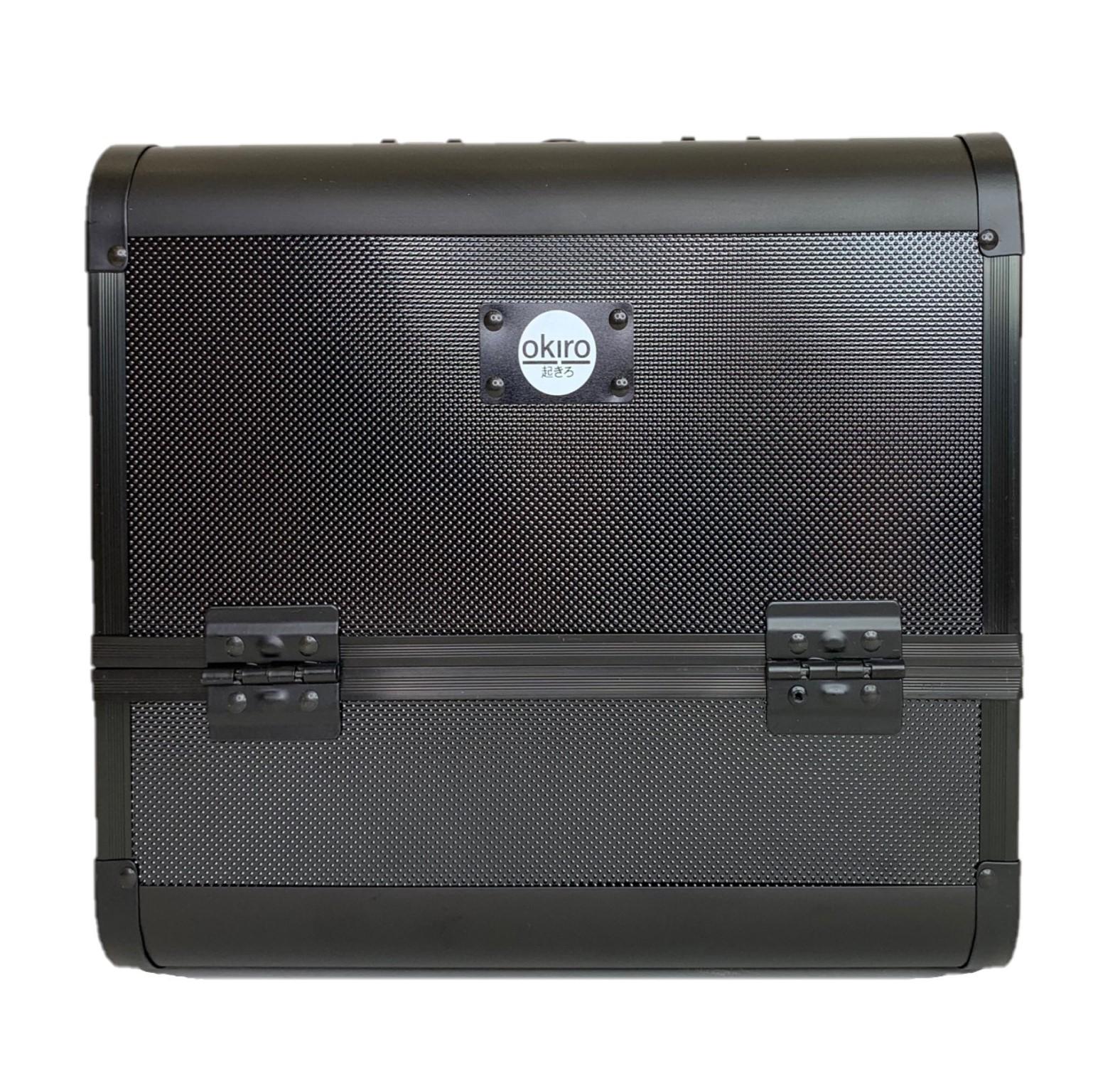 Бьюти кейс для косметики OKIRO MC 074 (черный) - изображение