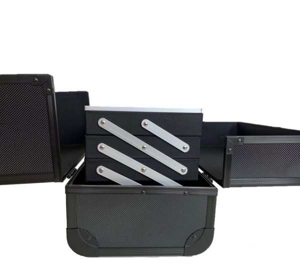Бьюти кейс для косметики OKIRO MC 074 (черный) - изображение 5
