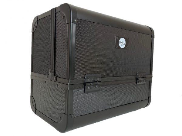 Бьюти кейс для косметики OKIRO MC 074 (черный) - изображение 3