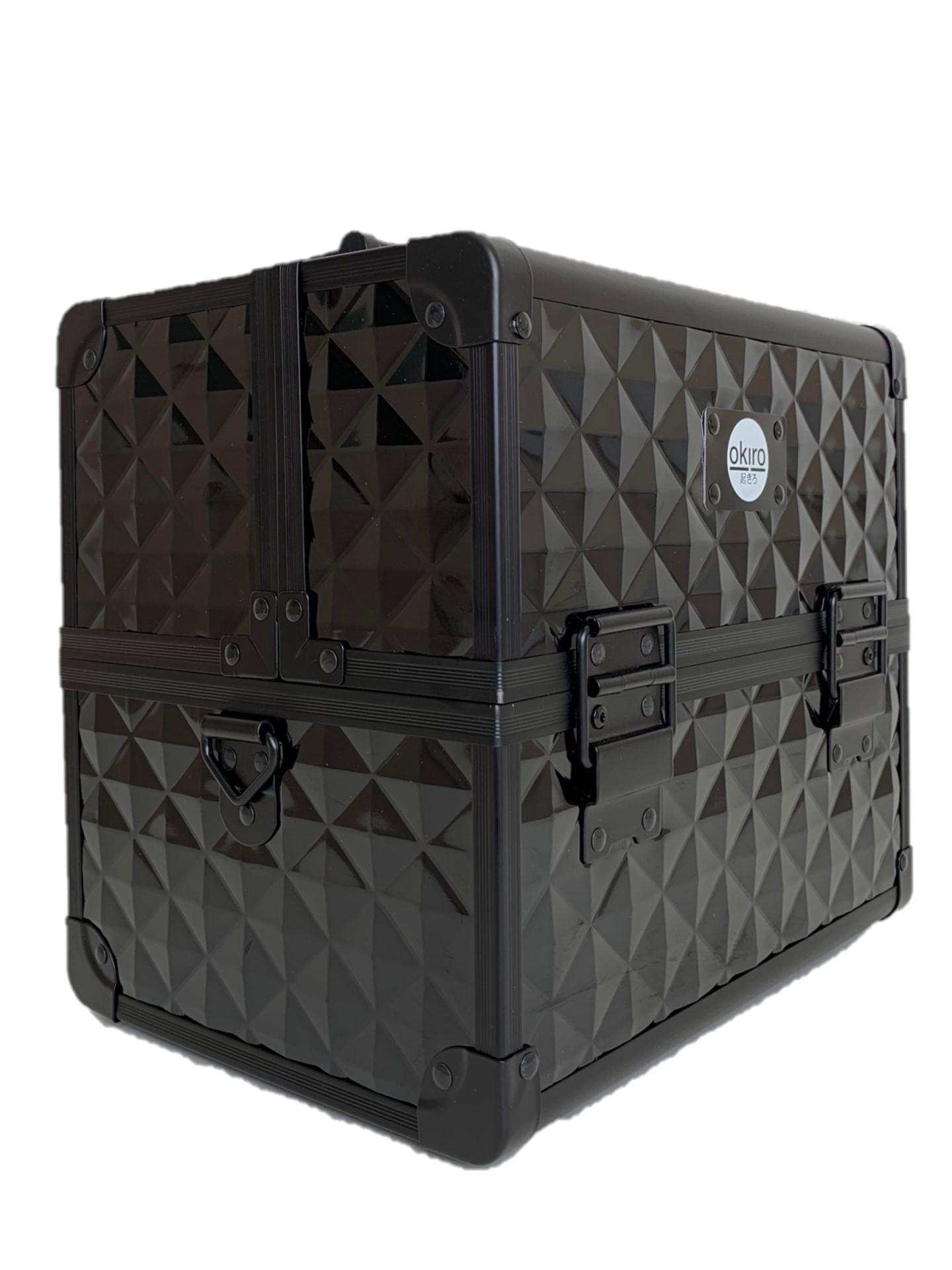 Бьюти кейс для визажиста OKIRO CWB 5350 черный бриллиант - изображение